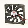 RS PRO Axial Fan, 80 x 80 x