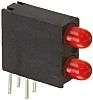 Dialight 553-0311F, Red Right Angle PCB LED Indicator,