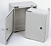 RS PRO Steel Wall Box, IP65, 300 mm x 300 mm