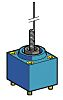 Telemecanique Sensors Limit Switch Head for use with