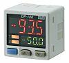Sensor de presión manométrica Panasonic de -100kPa → 100kPa, G1/8, 12 → 24 Vdc, salida Relé, para Gas no corrosivo, IP40