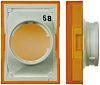 Omron Drucktasterlinse Rechteckig Gelb, für LED/Glühlampendruckschalter Serie A16