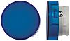 Blue Round Push Button Lens for use with A16 Series LED/Incandescent Lamp Push Button Switch