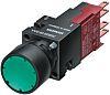 Siemens, 3SB2 Non-illuminated Green Round, 16mm Momentary Quick