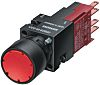Siemens 3SB2 Illuminated Red Push Button Momentary