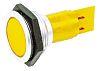Signal Construct Yellow Indicator, Tab Termination, 24 → 28 V, 30mm Mounting Hole Size