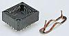E-TEC 2.54mm Pitch 68 Way PLCC Socket