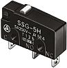 SPDT-NO/NC Roller Lever Subminiature Micro Switch, 5 A