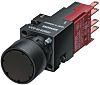Siemens, 3SB2 Non-illuminated Black Round, 16mm Momentary Quick
