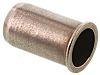 Gewindeeinsatz Edelstahl A4 316, M4 x 10mm, Flansch-Ø 7mm, für Tafelstärken von 0,5 → 3 mm