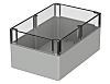 Bopla Euromas, Grey Polycarbonate Enclosure, IP66, Flanged, 240.3