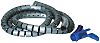 HellermannTyton Spiral Wrap, I.D 25mm 27mm Polypropylene Helawrap