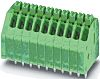 Phoenix Contact COMBICON Non-Fused Terminal Block, 9 Way/Pole,