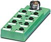 Phoenix Contact SACB-6/12-L-M23 Series M12 Sensor Box, 6