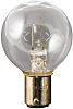 Moflash BA15d Incandescent Bulb, Clear, 24 V