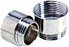 Lapp M40 → M50 Cable Gland Adapter, Nickel