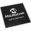 dsPIC30F4011-30I/ML Microchip dsPIC30F, 16bit DSP 30MIPS 1.024