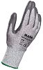 RS PRO, Grey Reusable Gloves, Size 8