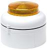 Cranford Controls VXB Amber LED Beacon, 20 → 35 V dc, Flashing, Surface Mount