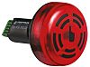 Werma 450 Buzzer Beacon 80dB, Red LED, 30