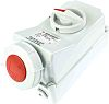 MENNEKES Switchable IP67 Industrial Interlock Socket 3PN+E,