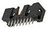 TE Connectivity AMP-LATCH Leiterplatten-Stiftleiste Gerade, 16-polig / 2-reihig, Raster 2.54mm, Kabel-Platine,