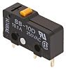 Omron SPDT-NO/NC Pin Plunger Microswitch, 100 mA @ 30 V dc, PCB Terminal