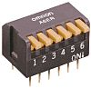 10 Way Through Hole DIP Switch 10P, Piano