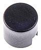 kupak érintőkapcsolóhoz Fekete, használható: (B3F sorozat, B3W sorozat)-hoz