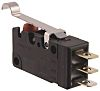 SPDT-NO/NC Simulated Roller Lever Microswitch, 5 A @