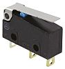 SPDT-NO/NC Hinge Lever Subminiature Micro Switch, 100 mA