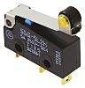 SPDT-NO/NC Roller Lever Microswitch, 100 mA @ 30 V dc