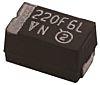 Vishay Tantalum Capacitor 10μF 35V dc MnO2 Solid