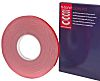 Hi-Bond White Double Sided Foam Tape, 25mm x 33m, 0.64mm Thick
