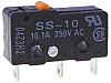SPST-NC Pin Plunger Microswitch, 5 A @ 125