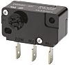 SPDT-NO/NC Rotary Microswitch, 5 A @ 250 V