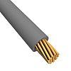 Alpha Wire Grey, 1.3 mm² Hook Up Wire