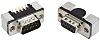 Harting, D-Sub Standard 9 Way Right Angle SMT