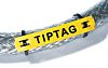 HellermannTyton TIPTAG Mounting clamp Cable Markers, Pre-printed