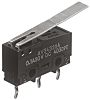 SPDT Long Hinge Lever Microswitch, 5 A @