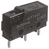 SPDT Pin Plunger Microswitch, 5 A @ 250
