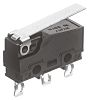 SPDT Hinge Lever Microswitch, 100 mA @ 30