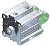 SMC Pneumatic Compact Cylinder 20mm Bore, 15mm Stroke,