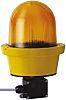 Werma 782 Yellow LED Beacon, 24 V dc, Rotating, Surface Mount