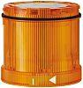 Werma KombiSIGN 70 Beacon Unit Yellow LED, Steady Light Effect 24 V dc