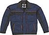 Delta Plus MACH2 Navy/Black Cotton, Polyester Work Jacket,