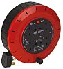 Jo Jo 5m 4 Socket Type G - British Extension Reel, 240 V
