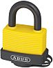 Abus 53mm Aluminium, Steel Key Weather Resistant Safety