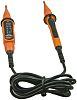 Comprobador de tensión Socket & See VIP150, calibrado RS, hasta 400V ac/dc, CAT IV