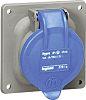 Legrand 16A Blue 3 Pole Plastic Industrial Socket,